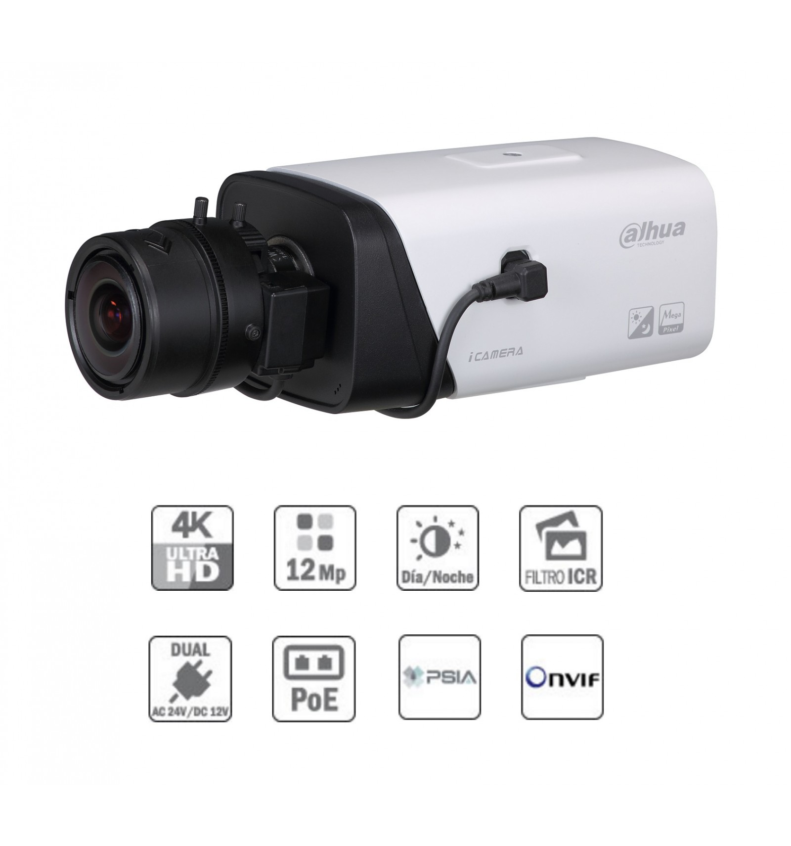 Camara de vigilancia box ip sin op resoluci n hasta 12mp a - Camaras de vigilancia ip ...