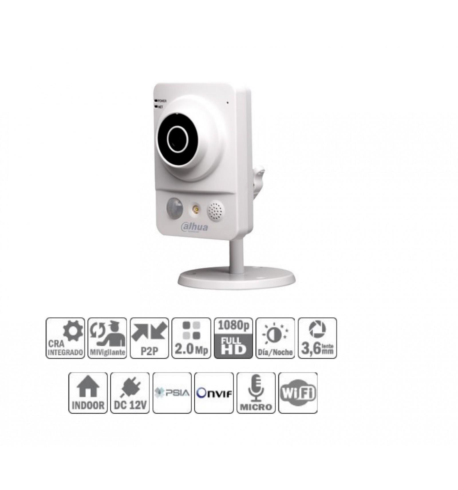 Camara de vigilancia ip wifi cubo con luz blanca y - Camara de vigilancia ip wifi ...