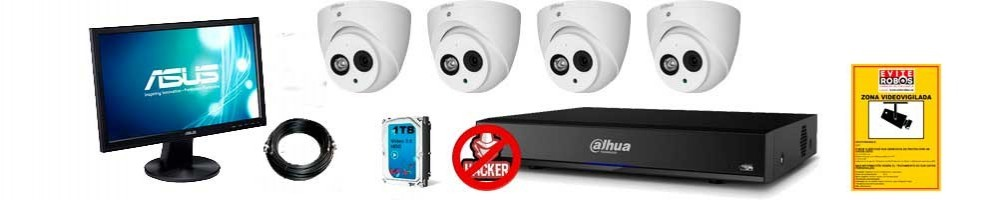Kits de camaras de vigilancia