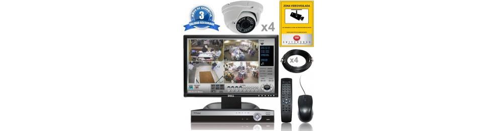 Kit Vigilancia interior 4 cam