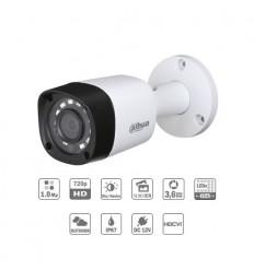 Camara de vigilancia Tubular HDCVI 1M 720P DN ICR IR15m 0Lux 3.6 IP67