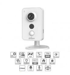 Camara de vigilancia Cubo IP  1.3M DN IR10m 2.8mm Wifi PIR Audio SD E/S