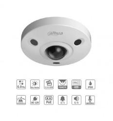 Camara de vigilancia FishEye 6M DN IR10m 1.55 IK10 IP67 Audio SD PoE