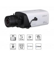 Camara de vigilancia Box IP 12M 4K DN dWDR 3D-NR 0.01Lux PoE (sin óptica)