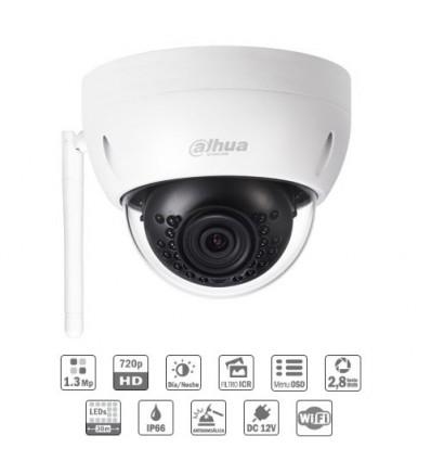 Camara de vigilancia domo IP 1.3M Wifi DN 3D-NR IR30m 2.8mm IP67 IK10