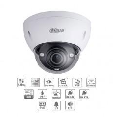Camara de vigilancia domo IP H265 4M DN SMART WDR IR50m 2.7-12VFM IK10 IP67 PoE