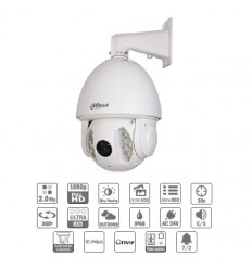 Camara de vigilancia domo motorizada IP 2M DN dWDR Ultra-NR IR150m 30X 3D V.A. IP66