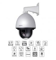 Camara de vigilancia domo motorizada IP 2M DN WDR Starlight 30X 3D V.A. IP67 IK10 POE+