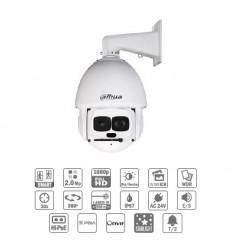 Camara de vigilancia domo motorizada IP 2M DN WDR Starlight Laser 500m 30X 3D V.A. IP67 Hi-POE
