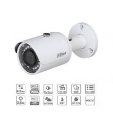 Camara de vigilancia Tubular HDCVI 4M DN WDR IR30m 3.6mm IP67 CFEX-HAC-HFW2401S