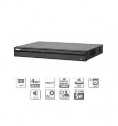 Grabador Tríbrido 16ch 4MP@12ips +8IP 5MP 1HDMI 2HDD CFEX-HCVR7216AN-4M