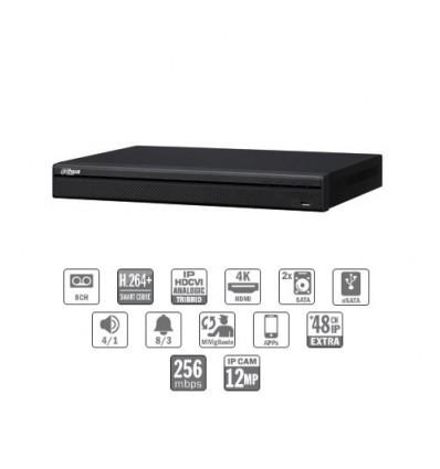Grabador HDCVI 4EN1 8ch 960H/1080P +56IP 12MP 2HDMI 2HDD E/S CFEX-HCVR8208A-S3