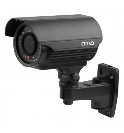 Camara exterior de alta resolucion analogica con vision for Camara vigilancia exterior