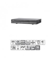 DVR 5EN1 16ch 4K@6ips +8IP 8MP 1HDMI 1HDD XVR5116H-4KL