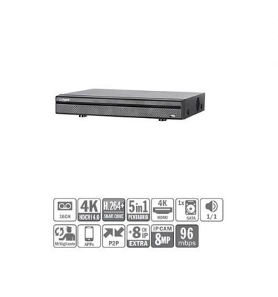 DVR 5EN1 16ch 4K@6ips +8IP 8MP 1HDMI 1HDD XVR5116H-4KL