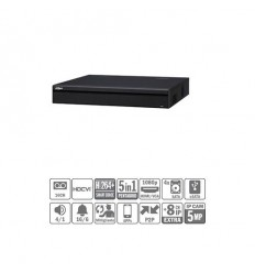 DVR 5EN1 16ch 1080P@25ips +8IP 5MP 2HDMI 4HDD E/S XVR7416L