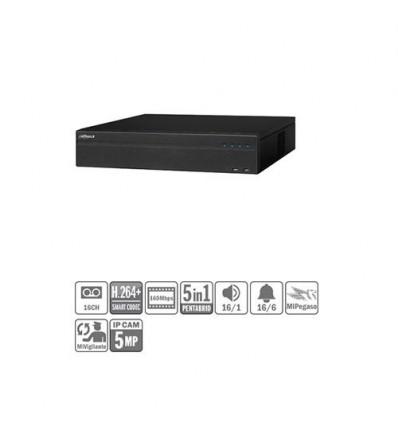 DVR 5EN1 16ch 1080P@25ips +8IP 5MP 2HDMI 8HDD E/S XVR7816S