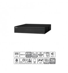 DVR 5EN1 16ch 4MP@12ips +48IP 12MP 2HDMI 8HDD E/S