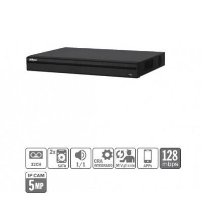DVR 5EN1 32ch 1080P@12ips 32IP 5MP 1HDMI 2HDD XVR5232AN