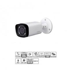 Tubular HDCVI 4EN1 2M 1080P DN ICR IR60m 0Lux 2.7-13.5 VF IP67 HAC-HFW1200R-VF-IRE6-27135