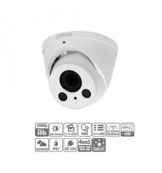 Domo HDCVI 4EN1 2M 1080P DN ICR WDR Starlight IR60m 0Lux 2.7-13.5 VFM IP67 HAC-HDW2231R-Z