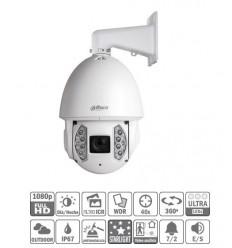 Domo PTZ IP H265 2M DN WDR Starlight IR200m 40X 3D V.A. IP67 Hi-POE SD6AE240V-HNI