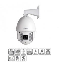 Domo PTZ IP 12M 4K H265 DN IR200m 30X 3D V.A. IP67 IK10 Hi-POE SD6AE830V-HNI