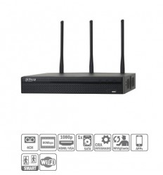 NVR 4ch 80Mbps H264 HDMI 1HDD WiFi DUAL BAND NVR4104HS-W-S2