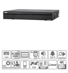 NVR 16ch 200Mbps 4K H265 HDMI 16PoE 4HDD E/S NVR4416-16P-4KS2