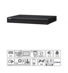 NVR 8ch 320Mbps 4K H265 HDMI 8PoE 2HDD E/S NVR5208-8P-4KS2