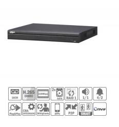 NVR 16ch 320Mbps 4K H265 HDMI 2HDD E/S NVR5216-4KS2