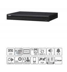 NVR 16ch 320Mbps 4K H265 HDMI 16PoE 2HDD E/S NVR5216-16P-4KS2