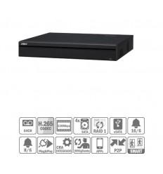 NVR 64ch 320Mbps 4K H265 2xHDMI 4HDD E/S NVR5464-4KS2