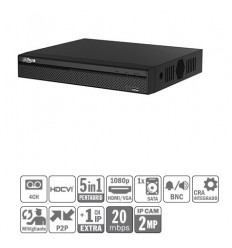 DVR 5EN1 4ch 1080N/720P@25ips +1IP 2MP 1HDMI 1HDD XVR4104HS-S2