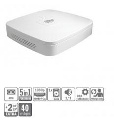 DVR 5EN1 8ch 1080N/720P@12ips +2IP 5MP 1HDMI 1HDD XVR4108C-S2