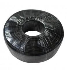 Rollo 200m Cable RG59 PVC CCA NEGRO (75-3) PFM931