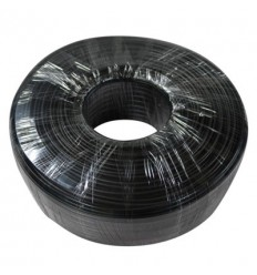 Rollo 100m Cable Siamés RG59+2x0.77 PVC CCA NEGRO (75-3) PFM941