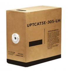 Rollo 305mts Cable UTP CAT5e Libre de Halógenos UTPCAT5E-305-LH