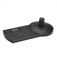 Teclado IP RS485 USB para control PTZ DVR NVR 3 Ejes 12Vdc NKB1000