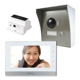 Kit de videoportero IP a...