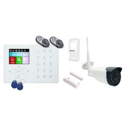 Alarma GSM + WiFi + RFID...