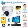 kits de camaras vigilancia para tiendas y comercios de hasta 50 metros