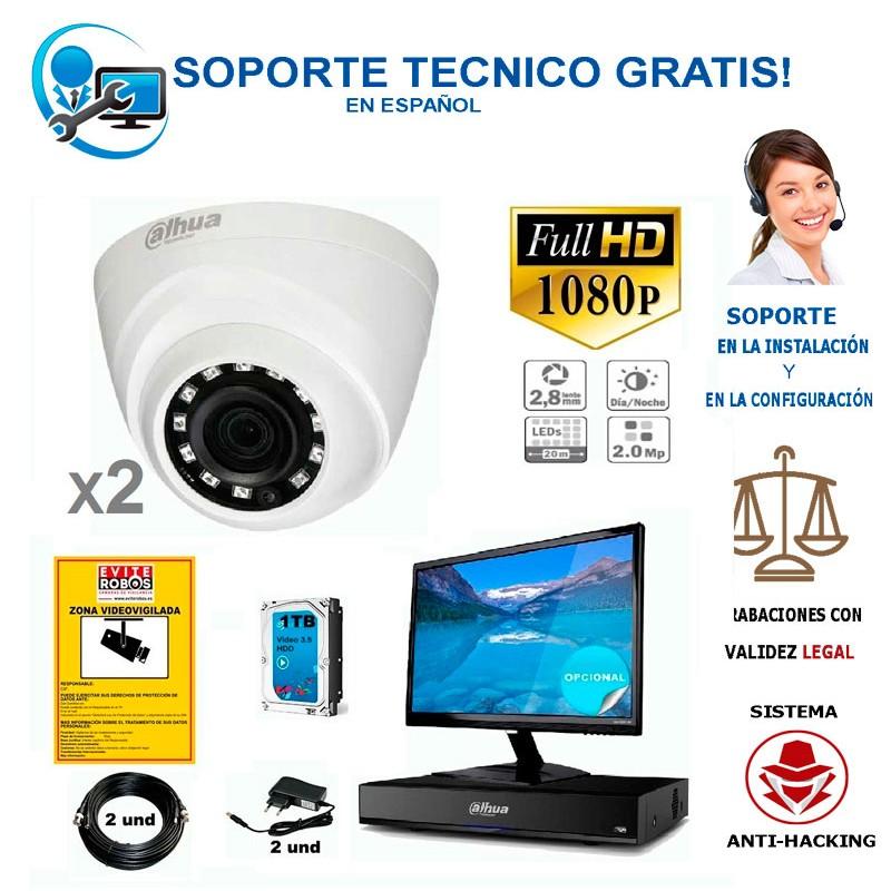 kit de camaras de vigilancia barato para comercios