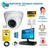 kit de 8 camaras de vigilancia full-hd