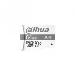 Tarjeta MicroSD Dahua de 64GB.