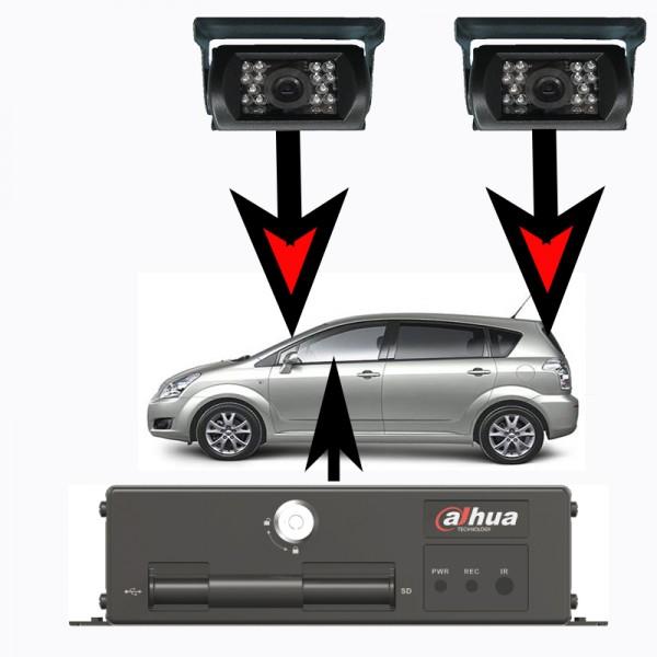 Kit camras de vigilancia para coche - Camaras de vigilancia con grabacion ...