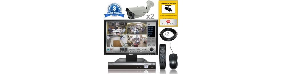 Kit Vigilancia exterior  2 cam