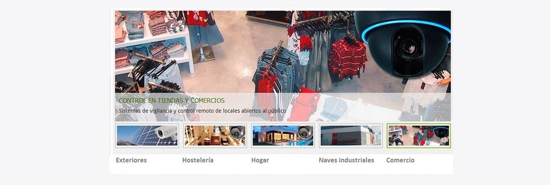 Comprar camaras de vigilancia para tiendas de moda y locales comerciales online. Tienda de camaras de seguridad para comercio