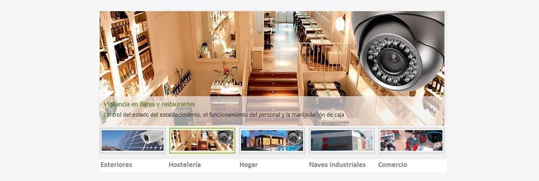 Comprar camaras de vigilancia para bares y restaurantes online. Tienda de camaras de seguridad para hostelería